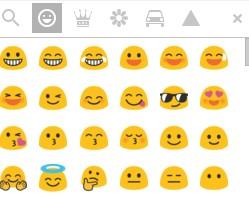 Foto dari isi emoji Gmail