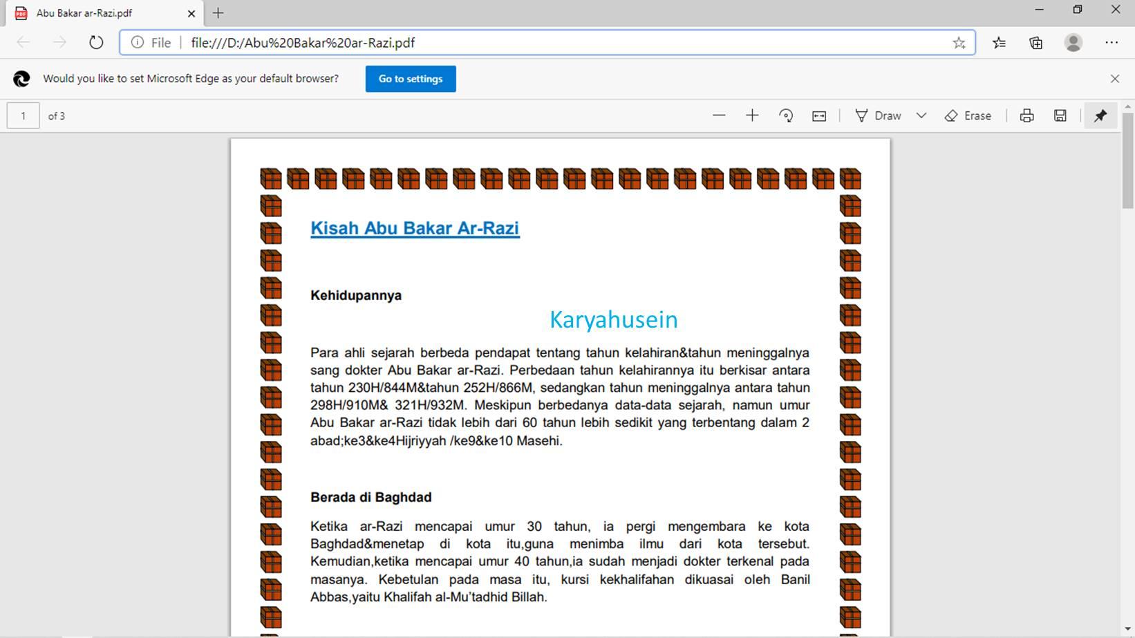 merubah Word ke PDF