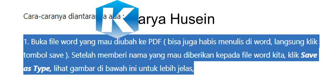 cara copy paste dari Google ke microsoft word