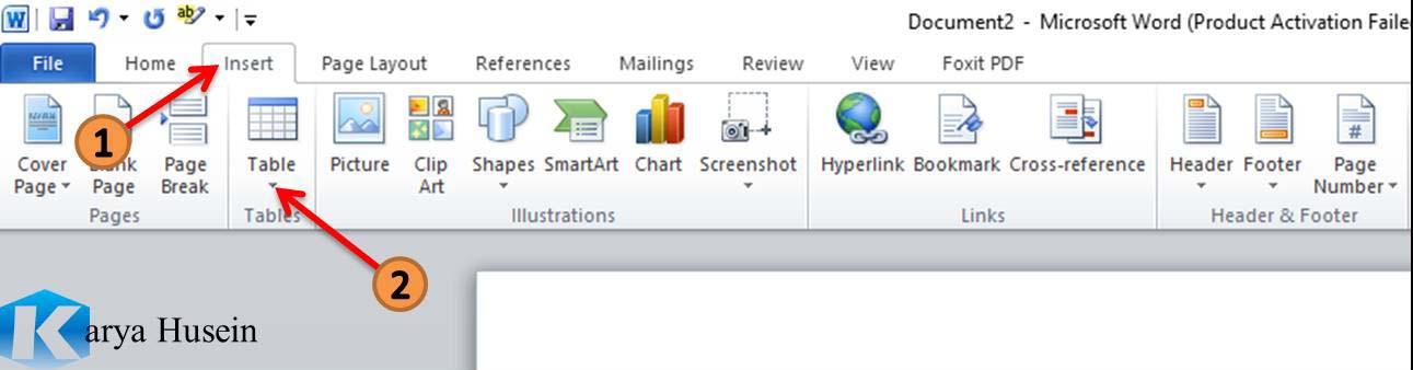 Tambahan untuk pembahasan Microsoft Word