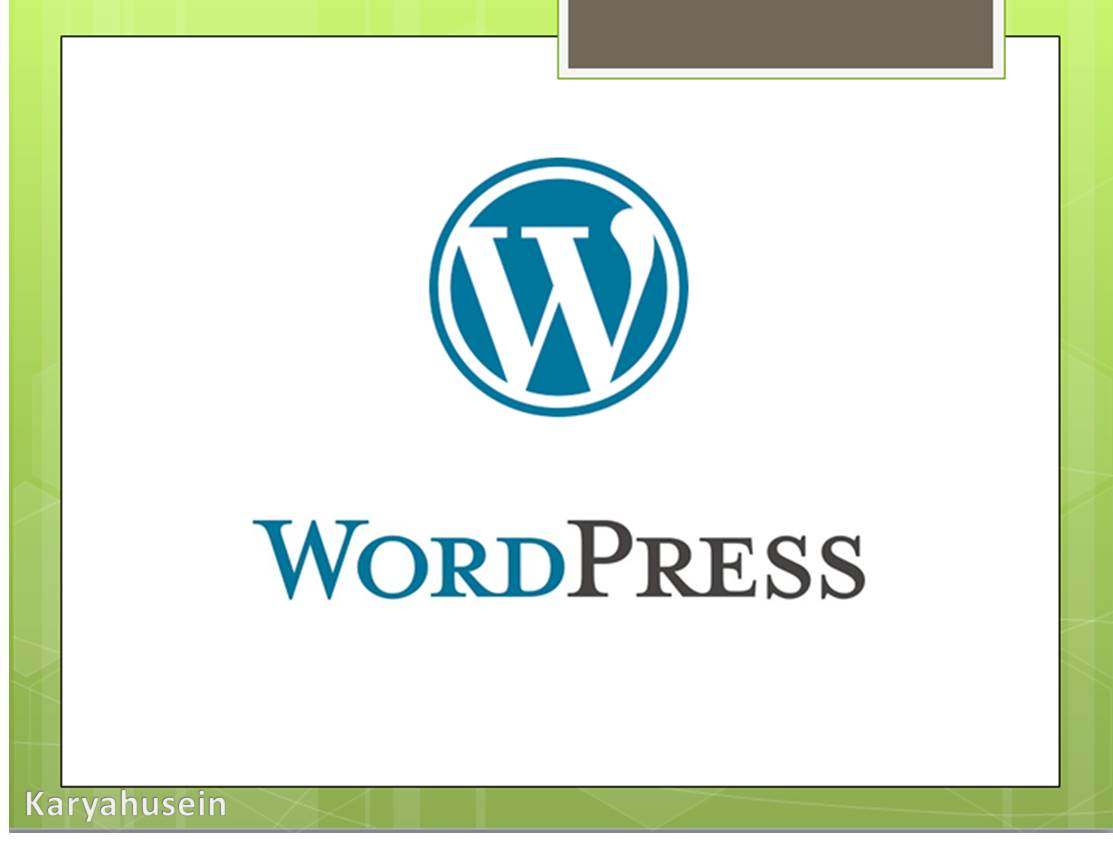 Apa Itu WordPress? Dan Bagaimana Pengertiannya?